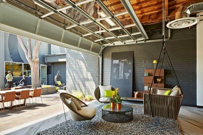 Hoe een garage transformeren tot lounge ruimte? Zo! - One Workplace #gaafkantoor