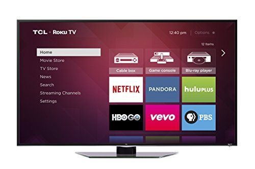 40 1080p 120Hz LED Roku TV. Access broadcast TV over 1500 streaming channels your gaming console and other devices all from the same Home screen. Plus 200 000 movies and TV episodes music sports news free programming and more. Control the Roku TV with the super simple remote your smartphone or tablet.
