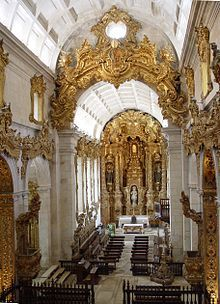 Tibaes_Church_Interior  Braga  Portugal