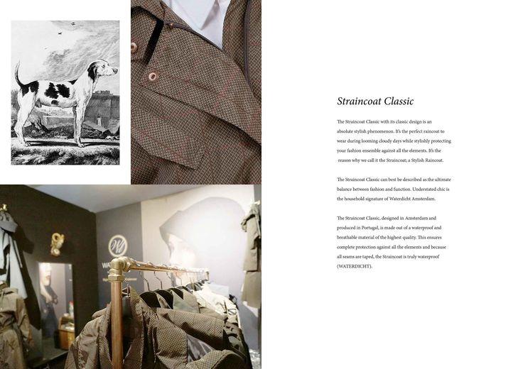 WATERDICHT Amsterdam  Straincoat Classic, stylish raincoat