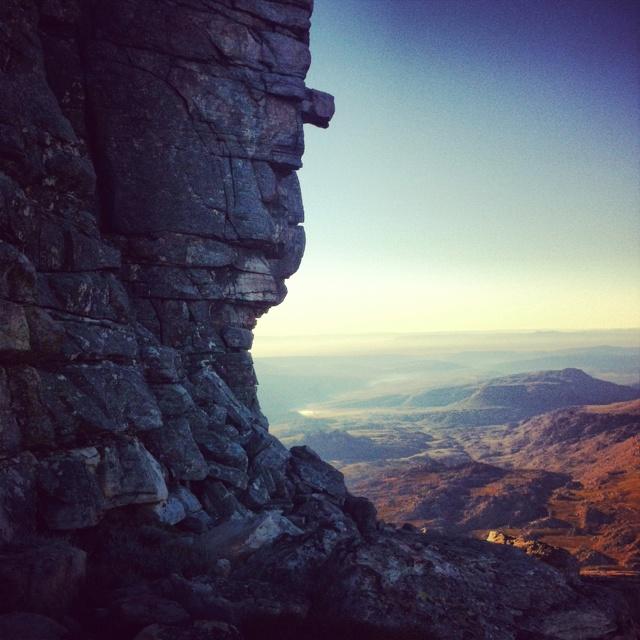 Sneeuberg, the highest peak in the Cederberg. West Coast, Western Cape, South Africa.