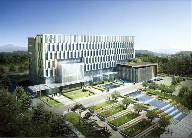 view Architecture design of District Court in Changwon