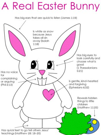 A Real Easter Bunny Bible Readings