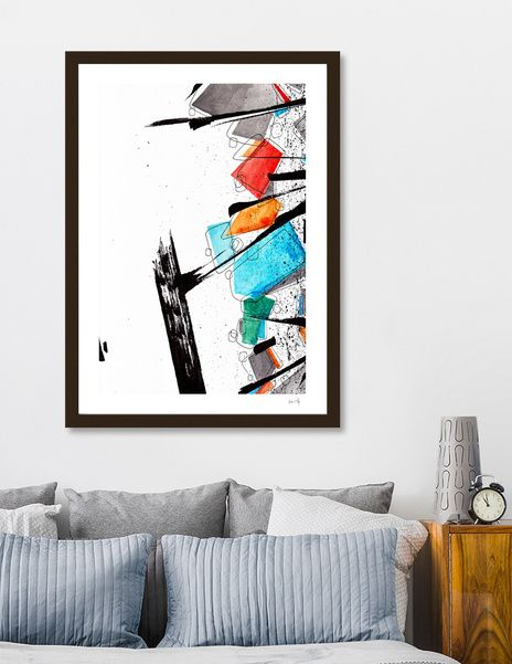 Discover «Abstract#04», Limited Edition Fine Art Print by Det Tidkun - From $29 - Curioos