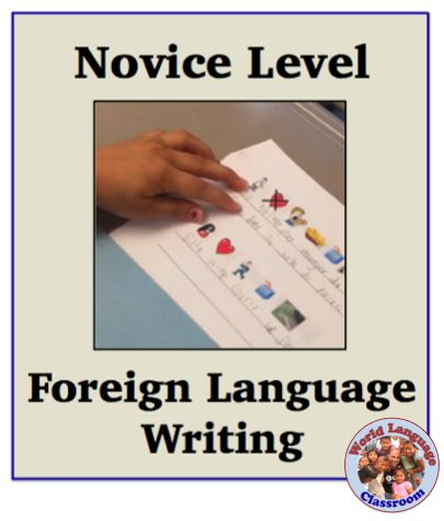 I've been working on writing with my novice mid class (3rd graders). They are consistently in the novice mid range when speaking. In this activity I first gave students a sheet with pictures …