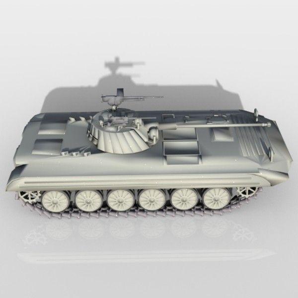 Armoured Personnel Carrier Apc 3Ds - 3D Model