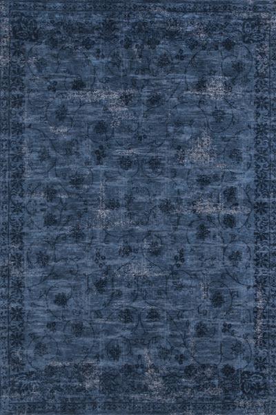 8049 Blue Vintage Rug from Fringesrugs.com