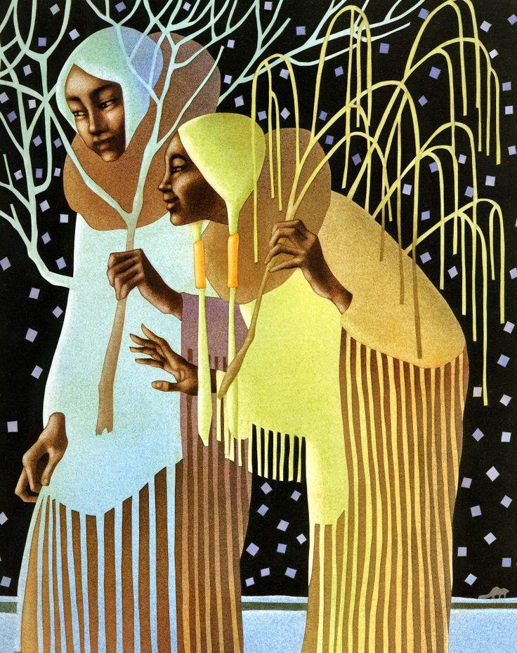 Мир Leo and Diane Dillon (164 работ) » Картины ...