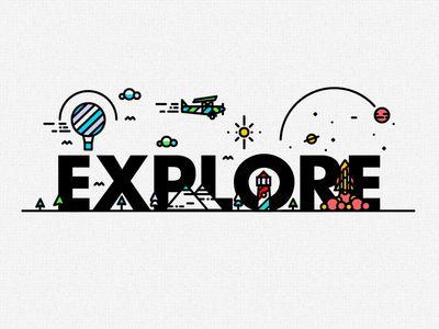 E-X-P-L-O-R-E — Designspiration