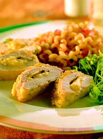 Chicken stuffed with Kerrygold Dubliner cheese. Mollie Stone's Markets - #Recipe: Dubliner Stuffed Chicken Breast