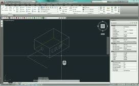 Quick steps to isometric drawing in autocad.  If you want to make it just in 2d, AutoCAD has some great Isometric grid and ellipse get the option of i......