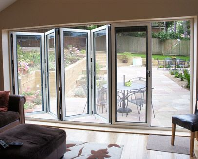 Bi Fold Doors Features - Quickslide
