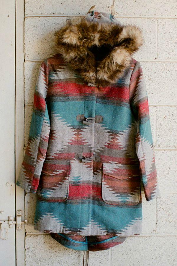 I am thinking of fall, and miss new england!!  Amazing coat