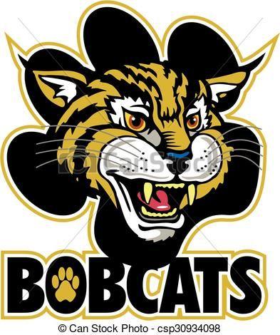 14 best bobcats images on pinterest lynx animal kingdom and cute rh pinterest com bobcat mascot clipart free bobcat clipart images