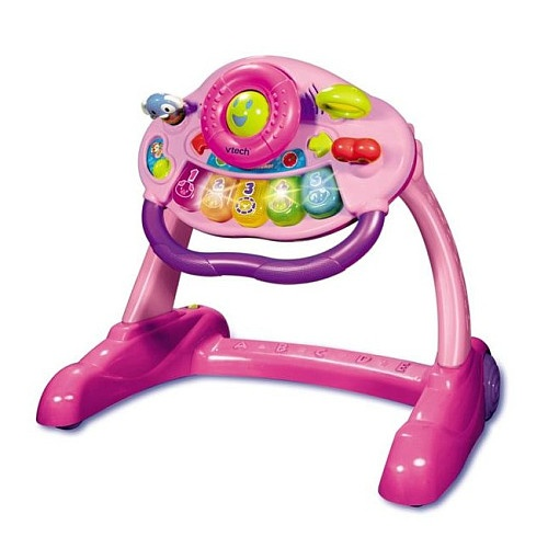 Vtech Sit To Stand Activity Walker Pink Vtech Toys