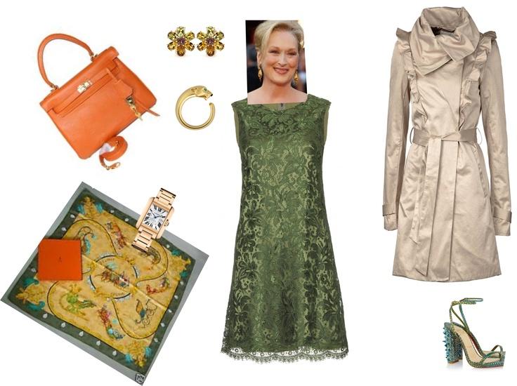 Outfit dedicato a Meryl Streep