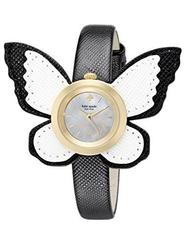 This�kate spade new york Women's 1YRU0810 Novelty Analog Display Japanese Quartz White Watch is a lovely watch to wear with a casual look, day or night. Because this Kate Spad