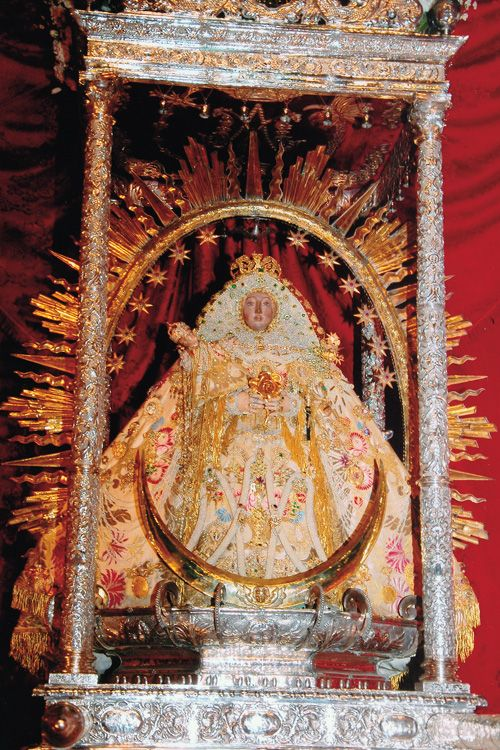 Nuestra Señora de las Nieves The statue of Our Lady of the Snow, the patroness of the island of La Palma.