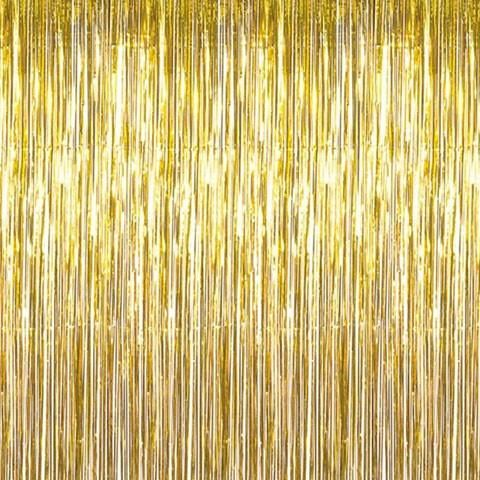 Foil Curtain Gold