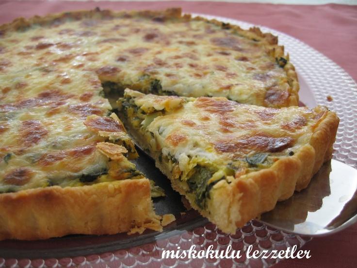 Sebzeli Kiş ~ miskokulu lezzetler