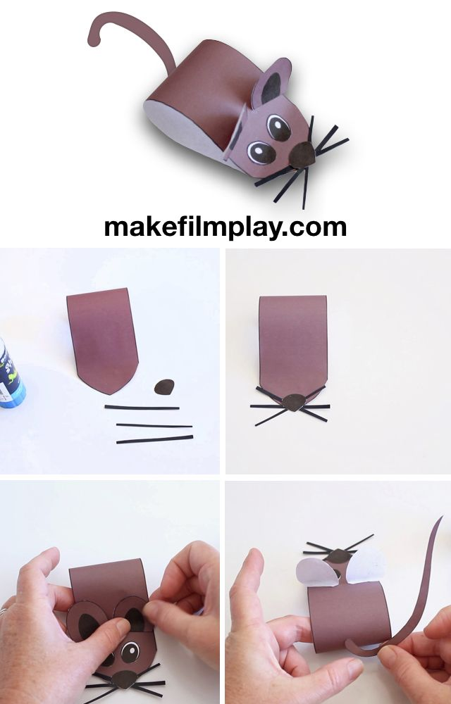 How to Make a Paper Mouse – Make Film Play