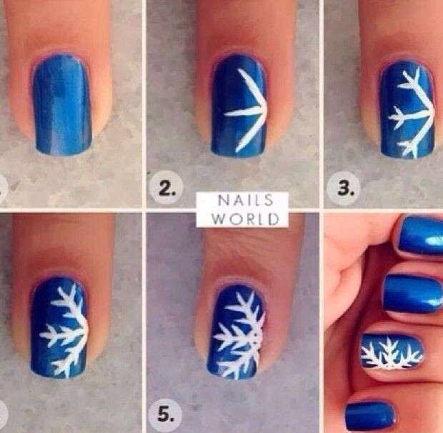 Cutest Winter Nail Design/tutorial!