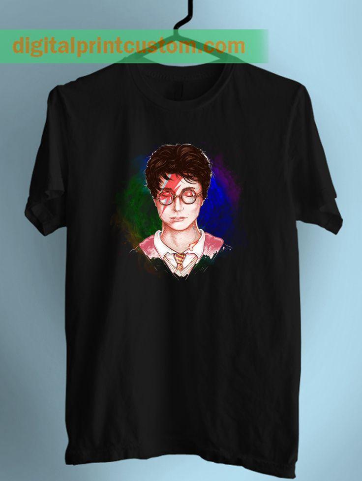 Harry Potter Stardust David Bowie T Shirt  #harrypotter #hogwarts #davidbowie #stardust #hipster #swagtshirt #funny #lol #muggle #patronus #spell #galaxy