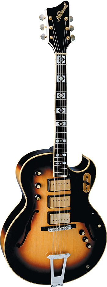 National Bel-Air, Photo courtesy George Gruhn, Vintage Guitar magazine
