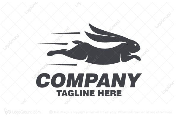 Logo for sale: Rabbit Run Logo
