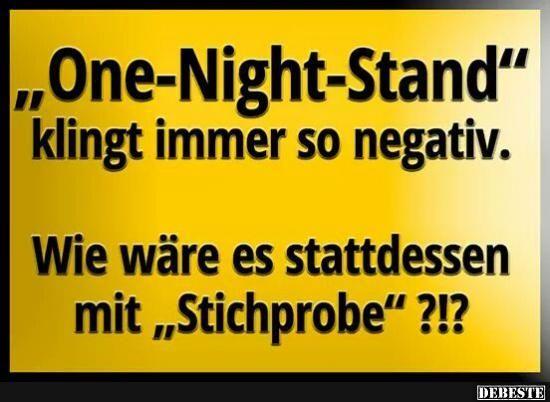 One-Night-Stand | Lustige Bilder, Sprüche, Witze, echt lustig