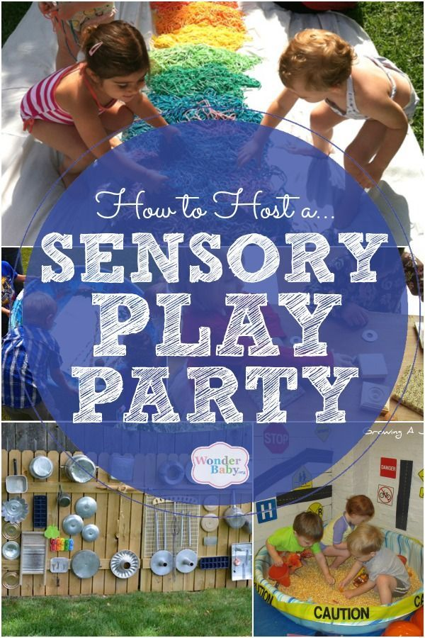 How To Host A Sensory Play Party For Visually Impaired Kids Wonderbaby Org Sensory Play Visually Impaired Children Sensory