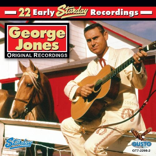 George Jones is still the gold standard for great country vocals. Color: Gold.