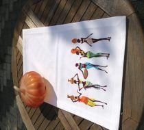 Cazcı kardeşler runner Jazz runner45 x 140cmMisket ketenBaskılı, kolay yıkanabilen, renkleri solmaz.. 327068