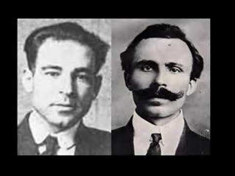 ▶ Sacco and Vanzetti - song by Woody Guthire & David Rovics - YouTube