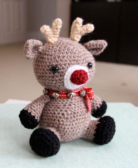 Free Crochet Amigurumi Cat Pattern : Amigurumi Crochet Pattern - Jingles the Reindeer ...