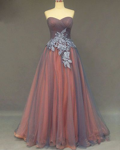 Sweetheart Prom Dress,Applique Prom Dress,Illusion Prom Dress,Fashion Prom Dress,Sexy Party Dress, New Style Evening Dress