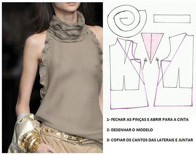Blusas de patrones simples