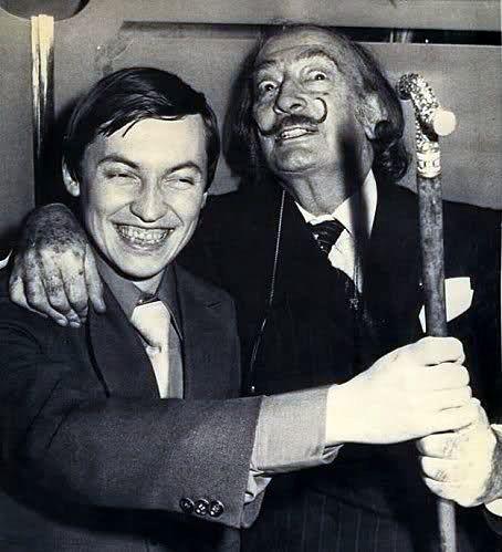 Anatoly Karpov & Dali.