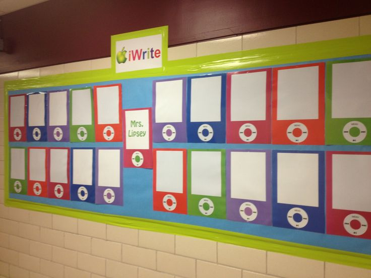 Writing Bulletin Board Idea.. Maybe display one from each grade ...