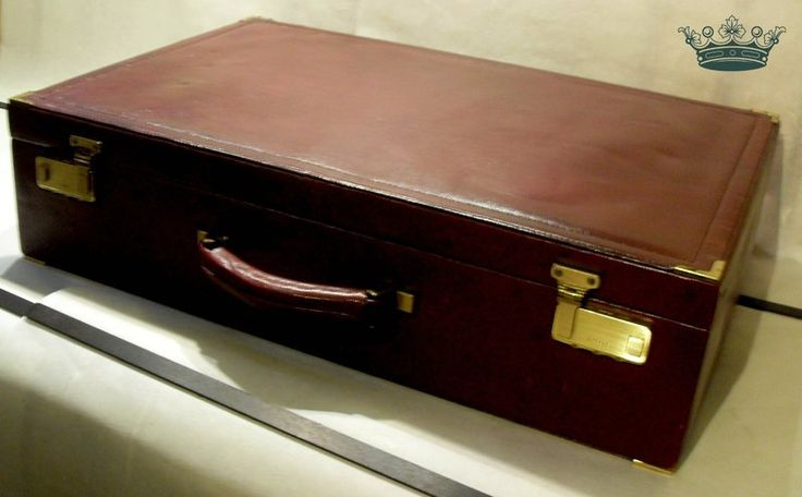 Vintage Koffer - riesen REISEKOFFER Luxus Vintage Leder Oldtimer - ein…