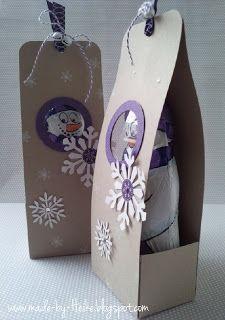 Verpackung Schneemann Schokolade