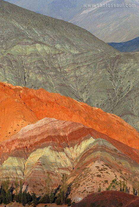 Purmamarca, Salta, Argentina. Altiplano Andino - seven colours hill
