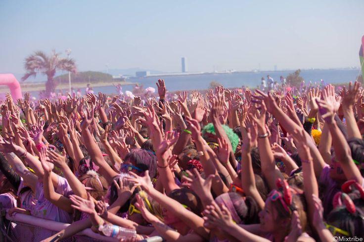 Run & Color & EDM Festival & Cosplay Aichi 2014 rave