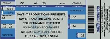 Says-it is a fun site for creating your own concert tickets.....create tickets for your classroom activities!