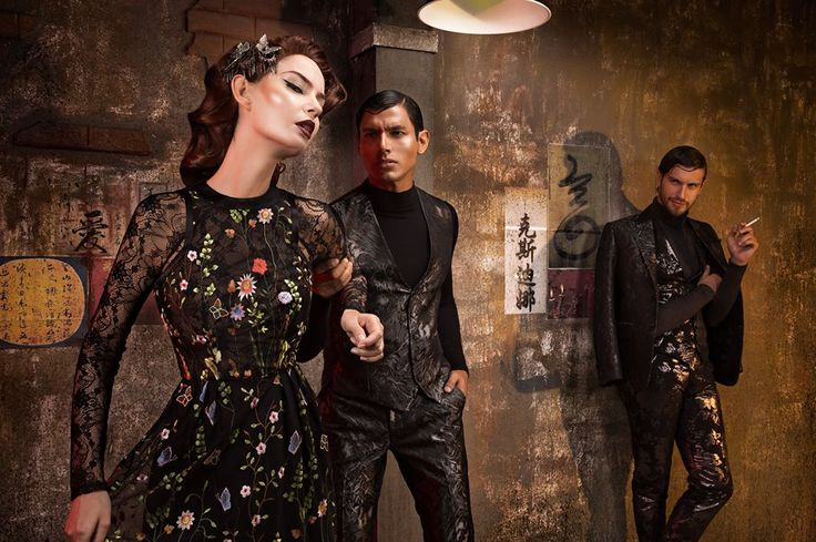MICHAEL CINCO x COUTURiSSIMO...Inspired by the Chinese movie In The Mood for LOVE