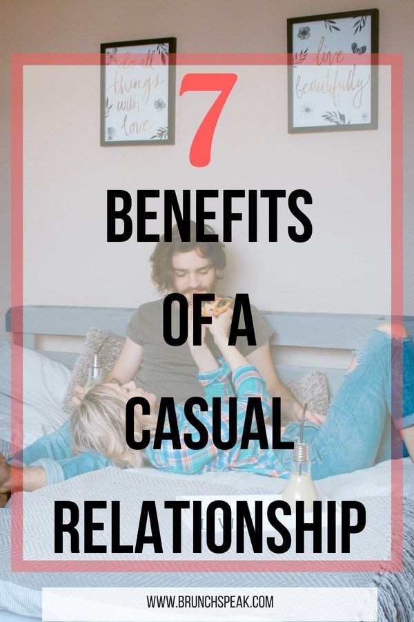 Signs of casual dating