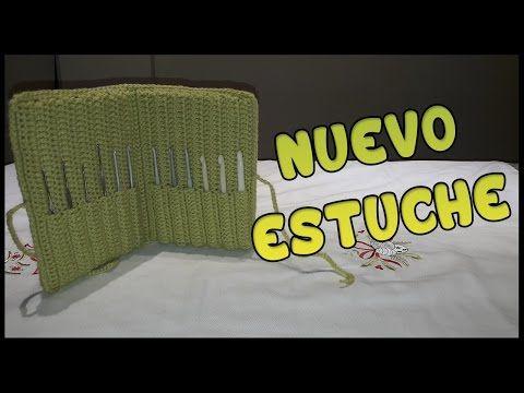 Nuevo Estuche a crochet - YouTube