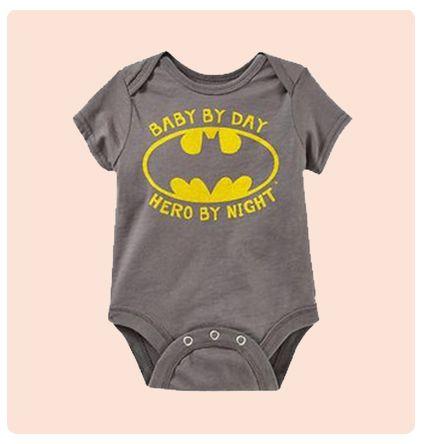Baby Hero Cute Baby Onesie | My Baby Canvas