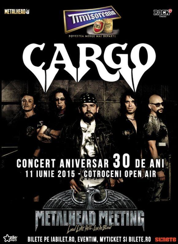 CARGO sarbatoreste 30 de ani de cariera pe 11 iunie, la Cotroceni Open Air