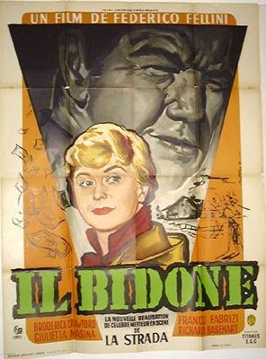 Film di Federico Fellini / Bidone